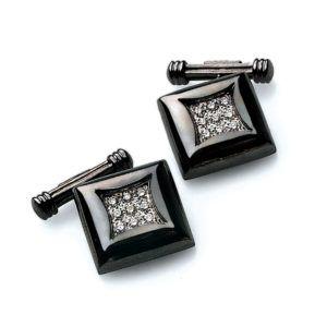 gemelli-oro-rodiato-nero-e-diamanti