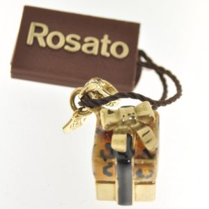 Ciondolo Pacco regalo Rosato Gold Colletion R7
