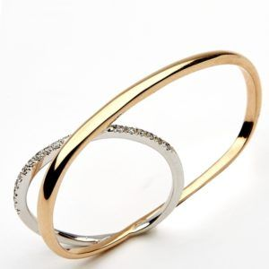 ANELLO DOUBLE FINGER OVAL