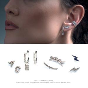 ALT orecchini cartilagine secondo e terzo buco